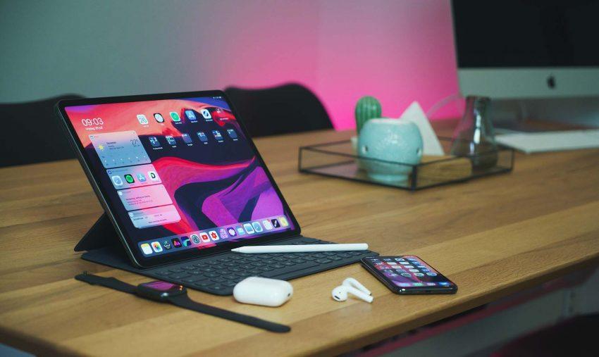 iPad Pro with Apple Magic Keyboard